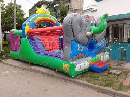 alquiler castillos inflables toro mecanico zona sur