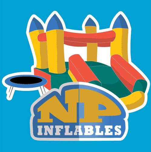 alquiler castillos inflables,camas elásticas,algodones y mas