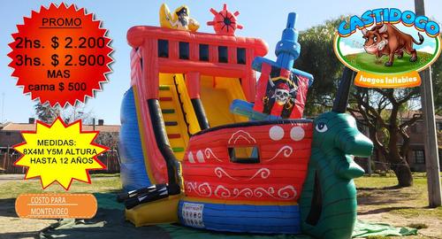 alquiler castillos inflables,toro-surf,cama,algodón