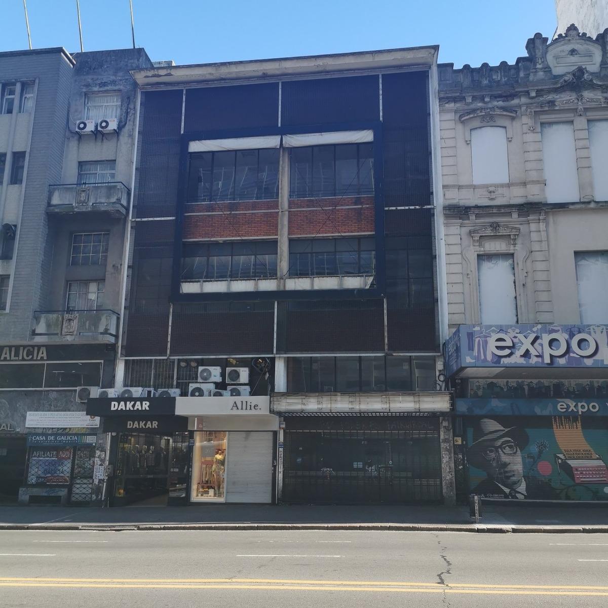 alquiler  centro local y edificio en 18 de julio
