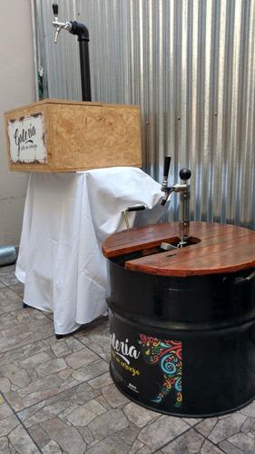 alquiler chopera cerveza artesanal