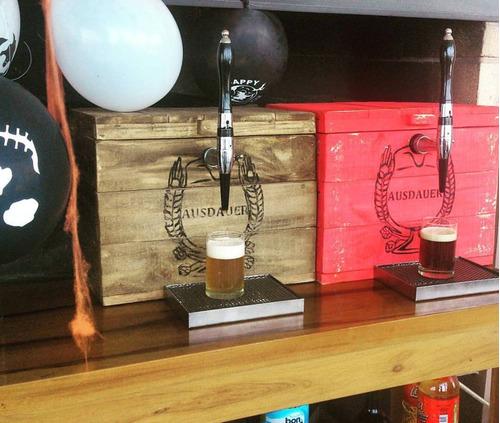 alquiler chopera cerveza artesanal ausdauer pura birra