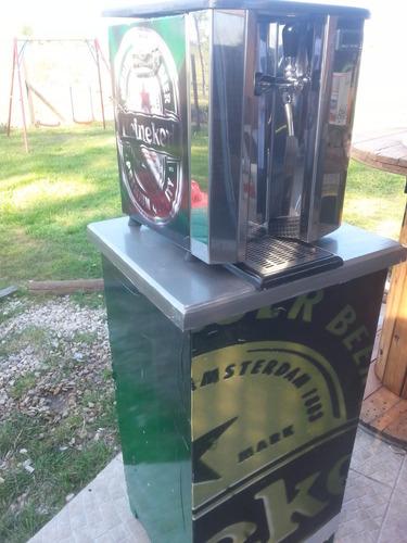alquiler chopera cerveza heineken - warsteiner