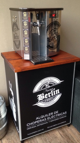 alquiler chopera cerveza heineken - warsteiner - grolsch