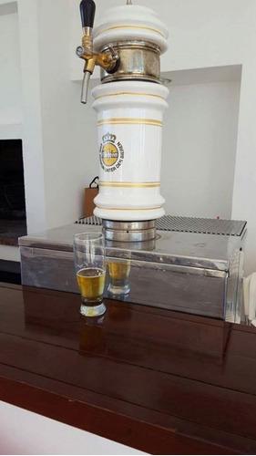 alquiler chopera cerveza quilmes, stella patagonia heineken