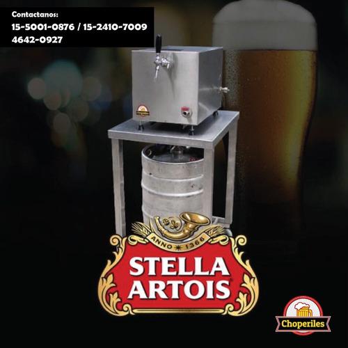 alquiler chopera cerveza stella artois 20 litros