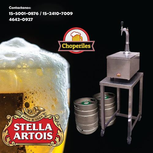 alquiler choperas- cerveza tirada