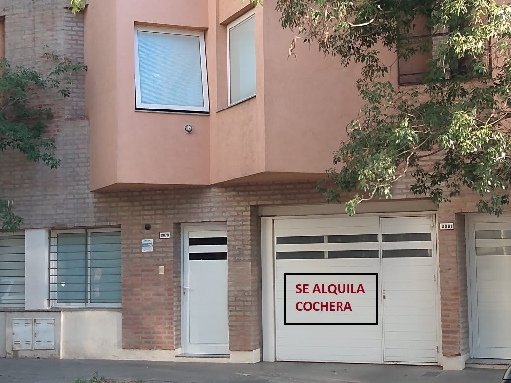 alquiler cochera zona residencial
