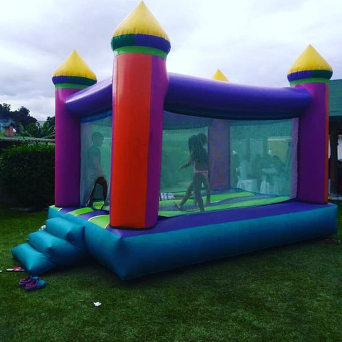 alquiler colchon inflable tipo castillo