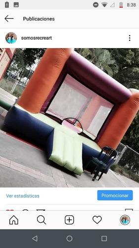 alquiler colchones inflables,cama elastica,payasita,caracas