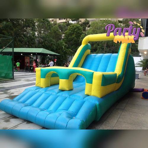 alquiler colchones inflables,camas elasticas - party mix
