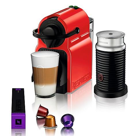 alquiler / comodato de cafeteras nespresso inissia