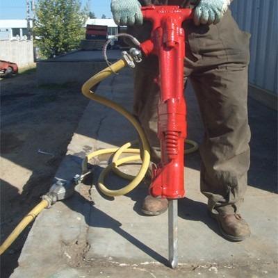 alquiler compresor neumático con martillo