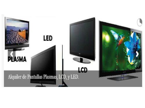 alquiler computadores laptos, pantallas de tv, proyectores.