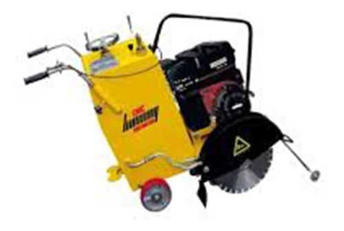 alquiler cortadora de hormigón c/motor honda de 13hp y 22hp