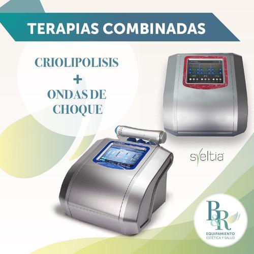 alquiler criolipolisis - ondas de choque - body up - hifu