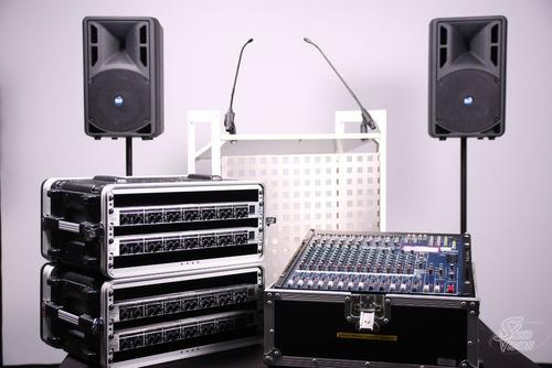 alquiler d sonido para charlas y conferencias, bodas