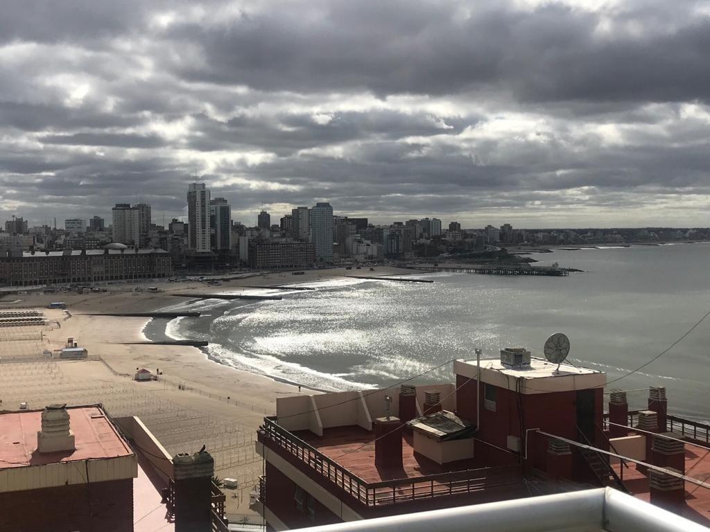 alquiler de 3 amb en zona torreón con cochera a estrenar - piso 7° (séptimo piso) - vista al mar -