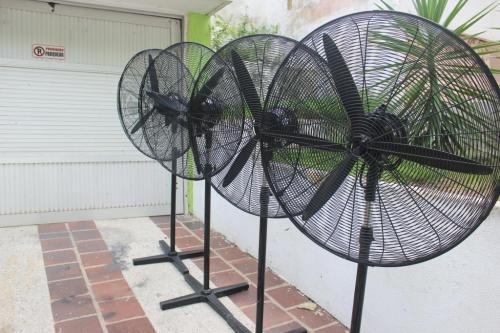 alquiler de abanicos para climatización de eventos