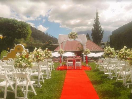 alquiler de alfombra roja para eventos en antigua