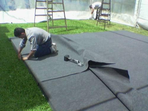alquiler de alfombras- tarimas-escenarios-pistas de baile