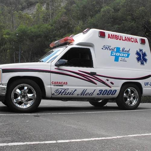 alquiler de ambulancia, en tachira y caracas
