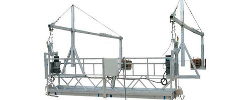 alquiler de andamio y plataformas de elevación certificada