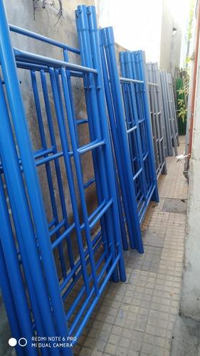 alquiler de andamio zona norte, escaleras exteibles,puntales
