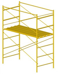 alquiler de andamios -puntales-tablones-escaleras-silletas