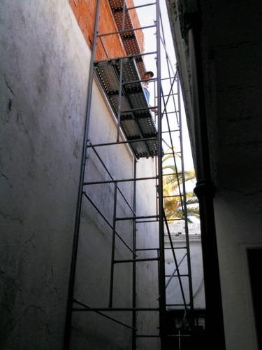 alquiler de andamios tubular escaleras. zona oeste,capital