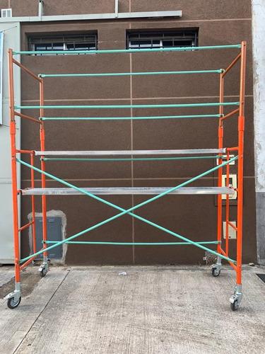 alquiler de andamios tubulares / pantallas de proteccion