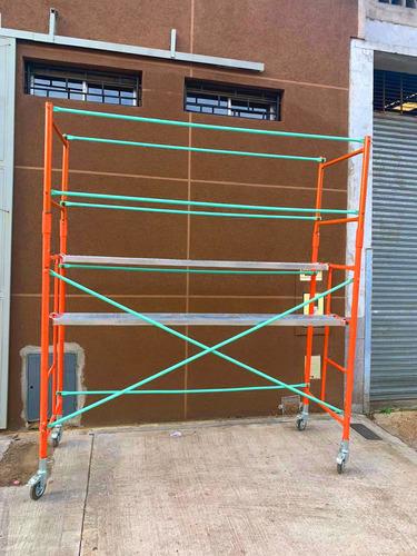 alquiler de andamios tubulares / pantallas de protección