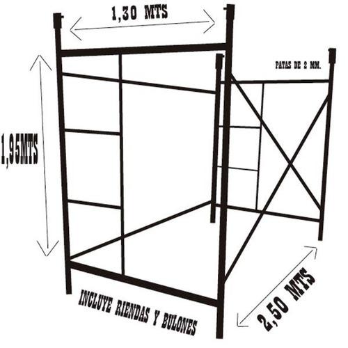 alquiler de andamios tubulares y escaleras extensibles