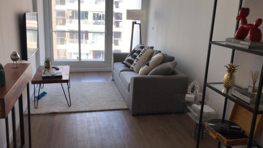 alquiler de apartamento 1 dormitorio. garaje. con muebles!