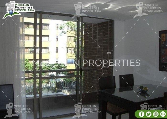 alquiler de apartamentos por mes en envigado cód: 4037