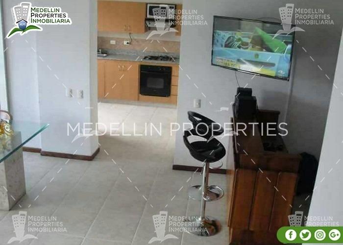 alquiler de apartamentos por mes en envigado cód: 4782