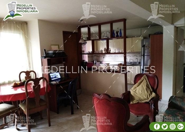 alquiler de apartamentos por mes en envigado cód: 4865