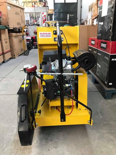 alquiler de aserradora de juntas con motor de 22 hp