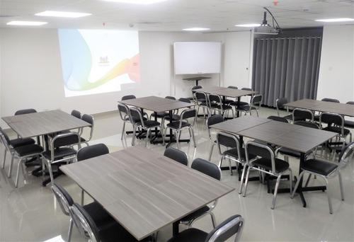 alquiler de aula salon capacitaciones reuniones 20 a 70 pers