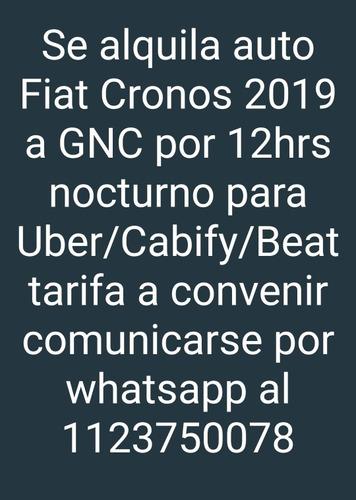alquiler de auto para cabify/uber/beat
