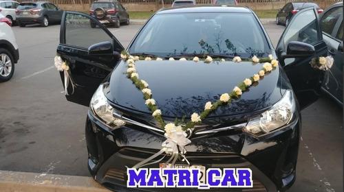 alquiler de auto para matrimonio