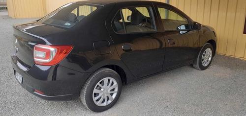 alquiler de auto renault logan 2020 negro uso particular