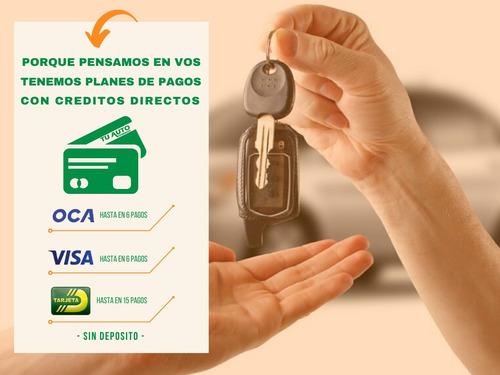 alquiler de auto sin deposito / plan pagos / 4 días  $ 6.900