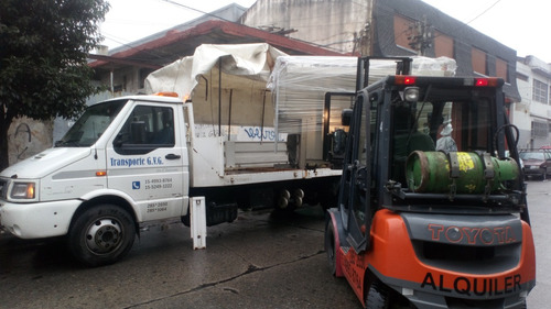 alquiler de autoelevadores plataforma y traslados de maquina