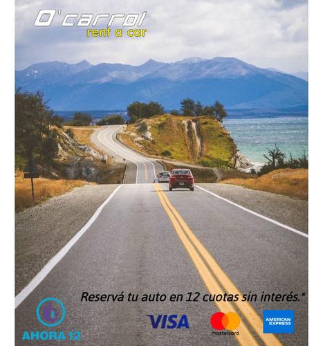 alquiler de autos, 4x4 - turismo 2021 - ocarrol argentina