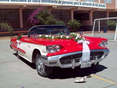 alquiler de autos antiguos para matrimonio  huancayo   peru