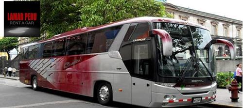 alquiler de autos, camionetas,vans h1,buses con o sin chofer