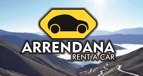 alquiler de autos en jujuy desde $800/día x 5 dias