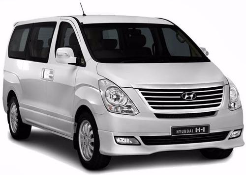 alquiler de autos hyundai h1 12 px por hora dia semana mes