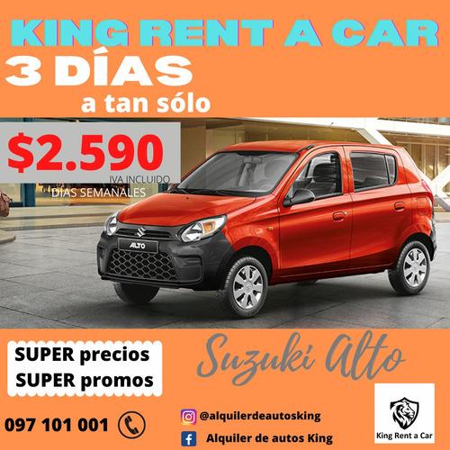 alquiler de autos king rent a car, alquilar al mejor precio!